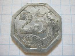 La Rochelle 25 Centimes 1922 - France