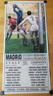 1982  SPAGNA  ITALIA  CAMPIONE  DEL  MONDO  WORLD  CUP - Abbigliamento, Souvenirs & Varie