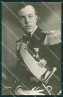 Royalty Sweden Bertil Duke Of Halland Real Photo Cartolina Postcard KS9214 - Royal Families