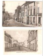 2 Cartes Franconville - Rue De Paris - Franconville