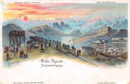 Rigi-Kulm Sonnenaufgang - SZ Schwyz
