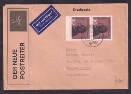 Deustche Bundespost - 1963 - Brief - Argentinien - [7] République Fédérale