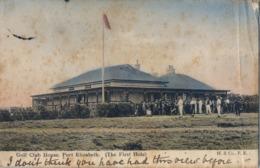 1906 SUDAFRICA , TARJETA POSTAL  CIRCULADA - PORT ELIZABETH , GOLF CLUB HOUSE - THE FIRST HOLE - Golf