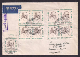 Deustche Bundespost - 1958 - Brief - Luftpost - Argentinien - BRD