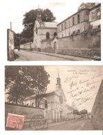2 Cartes Ermont - Chapelle De Cernay Et Orphelinat - Ermont