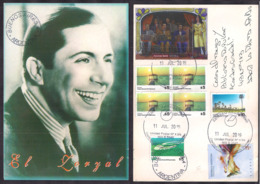 Argentina - 2019 - Carte Postale - Lettre - Carlos Gardel - Tango - Lettres & Documents