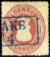 Oldenburg. Sc #18. Michel #17.A. Used. VF. - Oldenburg