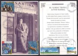 Argentina - 2019 - Carte Postale - Lettre - Anibal Troilo - Tango - Bandoneon - Lettres & Documents