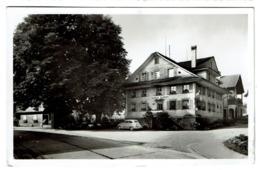 Carte Photo - Gasthof Hirschen Oberkirch - J. Wicki - 1955 - Edit. W. & R. Friebel, Sursee - 2 Scans - LU Lucerne