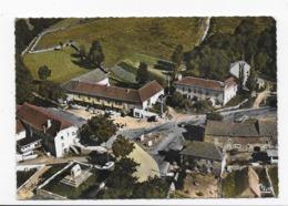 48  L'HABITARELLE  HOTEL DE LA POSTE ET LE TOMBEAU  VUE AERIENNE  BON ETAT   2 SCANS - Autres Communes