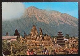 BALI - INDONESIA - Besakih Temple And Mt. Gunung Agung, Bali  - Vg - Indonesia