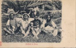 "1903 SUDAFRICA , TARJETA POSTAL  CIRCULADA - CHARLESTOWN , "" BROTHERS IN ARMS "" , TEMA ÉTNICO , ETNIC , AFRICA - África"