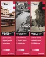 *245*  ARCHIVES DE RENNES - EXPO : REGARDS NEUFS -  SERIE 3 MARQUE PAGE - Marque-Pages