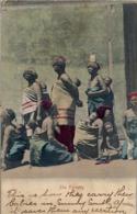 "1905 SUDAFRICA , TARJETA POSTAL  CIRCULADA - PORT ELIZABETH , "" THE NURSERY "" TEMA ÉTNICO , ETNIC , WOMEN , AFRICA - África"