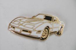 Pin's - Automobile CHEVROLET CORVETTE 1981 - Corvette
