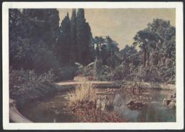 """899d.""""Crimea. Nikitsky Botanical Garden."""" Post Office 1956. Haraks (Crimea) Leningrad (St. Petersburg). Rare Stamp. - 1923-1991 USSR"""