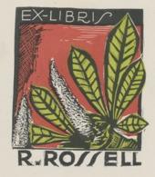 Ex Libris R. Rossell - Ex-libris