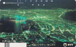 Télécarte Ancienne Japon / NTT 430-034 ** MATE ** - HAKODATE - JAPAN Front Bar Phonecard - Balken Telefonkarte / TBE - Japon