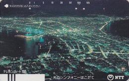 Télécarte Ancienne Japon / NTT 430-034 ** BRILLANTE ** - HAKODATE - JAPAN Front Bar Phonecard - Balken TK / TBE - Japon