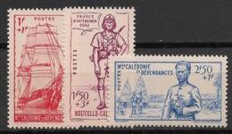 Nouvelle Calédonie - 1941 - N°Yv. 190 à 192 - Défense De L'empire - Neuf Luxe ** / MNH / Postfrisch - Nuevos