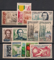 Nouvelle Calédonie - 1950-58 - N°Yv. 278 à 290 - Complet 13 Valeurs - Neuf Luxe ** / MNH / Postfrisch - Nuevos