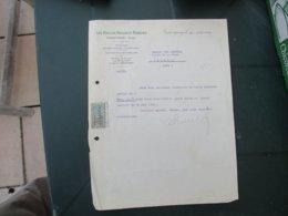 VALENTIGNEY (DOUBS) LES FILS DE PEUGEOT FRERES COURRIER DU 18 AOUT 1921 - France