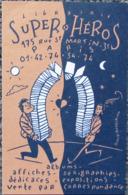 Dupuy Berberian - Ancienne Carte De Visite Librairie Super Heros - Livres, BD, Revues
