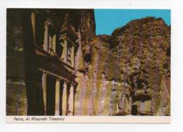Jordanie: Petra, Al Khazneh, Treasury, La Tresorerie, Par Avion, Timbre Basket (19-1766) - Jordanie
