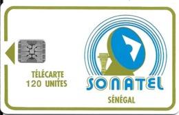 CARTE-PUCE-SENEGAL-120U-SC5-SONATEL-V°5N° Ge 34672-UTILISE-TBE - Sénégal