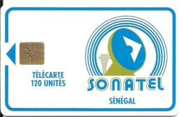 CARTE-PUCE-SENEGAL-120U-GEMB-SONATEL-V°Sans N°-UTILISE-TBE - Sénégal