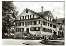 Carte Photo - Carte De Bonne Année - Hotel Hirschen Oberkirch Luzern - Familie J. Wicki - 2 Scans - LU Lucerne