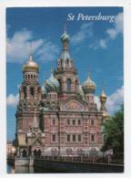 Russie: St Petersburg, Saint Petersbourg, The Church Of The Resurrection Of Christ, Eglise Saint Sauveur (19-1768) - Russie