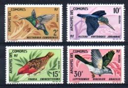 COMORES - YT N° 41 à 44 - Neufs ** - MNH - Cote: 36,00 € - Comoro Islands (1950-1975)