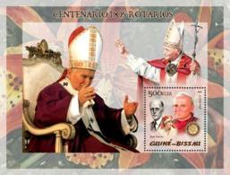 Guinea - Bissau 2005 - Pope John Paul II & P.Harris - Guinea-Bissau