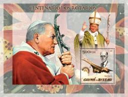 Guinea - Bissau 2005 - Pope John Paul II & P.Harris, Concorde - Guinea-Bissau