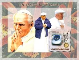 Guinea - Bissau 2005 - Pope John Paul II & P.Harris, Train - Guinea-Bissau