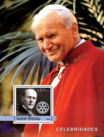 Guinea - Bissau 2004 - Pope John Paul II & Rotary - Guinea-Bissau