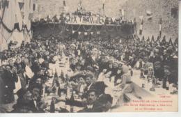 Banquet De L'Inauguration Des Caves Bartissols à BANYULS Le 22 Octobre 1905 - Banyuls Sur Mer