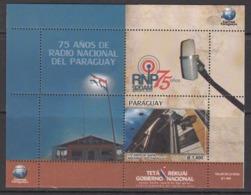 2017 Paraguay Radio Souvenir Sheet  MNH - Paraguay
