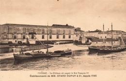 16 Cognac Cpa Issue De Carnet Le Chateau Ou Naquit Le Roi Francois 1er Etablissements Otard Dupuy - Cognac