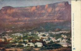 1904 , SUDAFRICA , TARJETA POSTAL CIRCULADA , CAPE TOWN AND TABLE MOUNTAIN , WORTH CAPE - PORTOBELLO - Sudáfrica