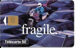 CARTE-PUBLIC-50U-F 582A-GEMB-08/95-SECURITE ROUTIERE  MOTOS-UTILISE-TBE - France