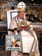 Guinea - Bissau 2005 - Pope John Paul II S/s, Y&T 239, Michel 2993/BL498 - Guinea-Bissau