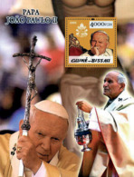 Guinea - Bissau 2005 - Pope John Paul II S/s, Y&T 242, Michel 2994/BL499 - Guinea-Bissau