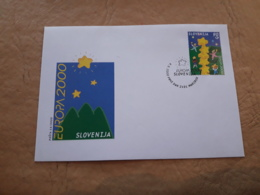 Slovenie Fdc Europa 2000 - 2000