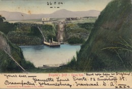 1904 , SUDAFRICA , TARJETA POSTAL CIRCULADA , POTGIETER'S DRIFT - SPION KOP - Sudáfrica