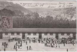 88 REMIREMONT - Cour Du 15e Bataillon De Chasseurs - Remiremont