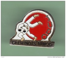JUDO *** CHEMINOTS NIMOIS *** 1051 - Judo