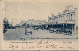 1903 , SUDAFRICA , TARJETA POSTAL CIRCULADA , OXFORD STREET , LOOKING SOUTH - EAST LONDON - Sudáfrica
