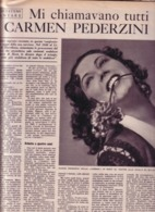 (pagine-pages)GIANNA PEDERZINI  Epoca1953/133. - Libri, Riviste, Fumetti